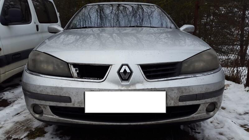 Renault Laguna II laguna 2 facelift 2005 m dalys