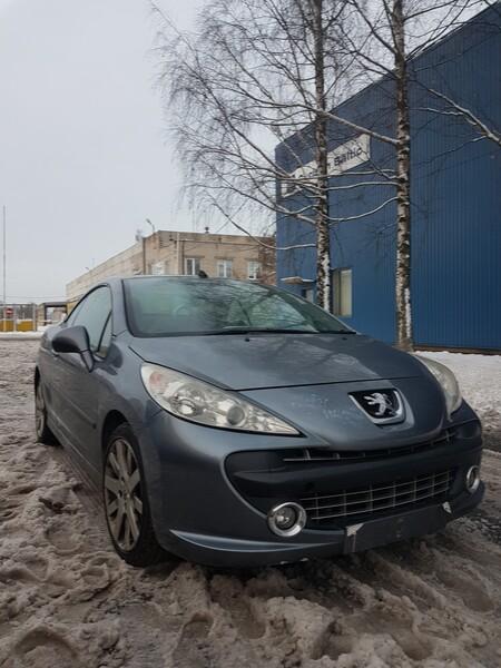Peugeot 207 Cc Maža rida ! 2008 m dalys