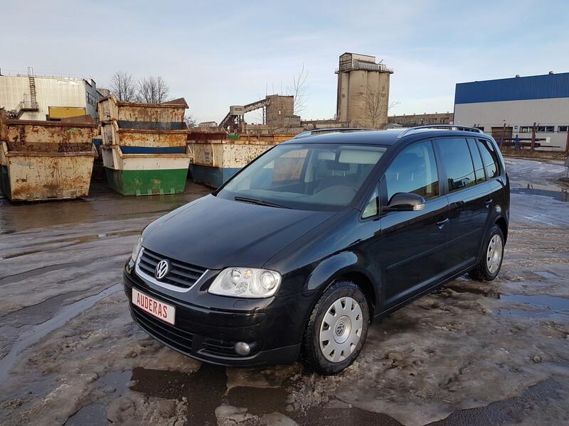 Volkswagen Touran I 2.0 DYZELIS 103 KW 2005 m dalys