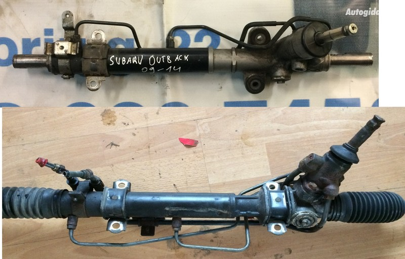 Subaru Outback 2011 y. parts