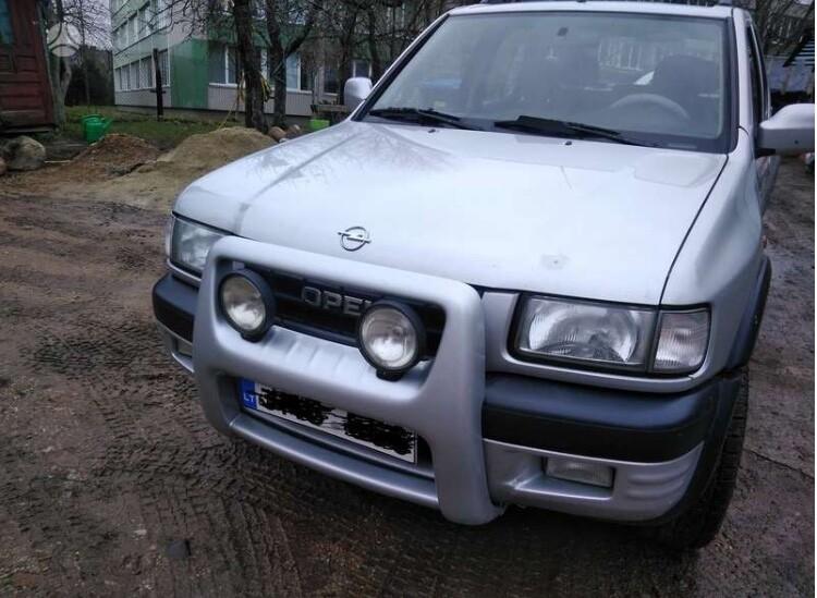 Opel Frontera B 2000 m. dalys