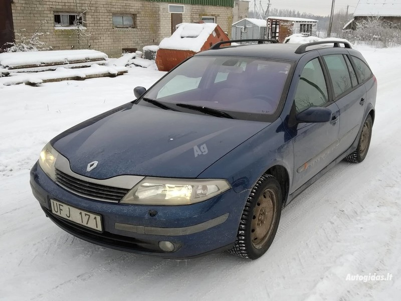 Renault Laguna II 2003 m dalys