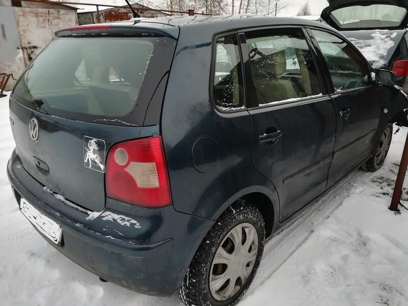 Volkswagen Polo IV 74kw europa 2003 m dalys