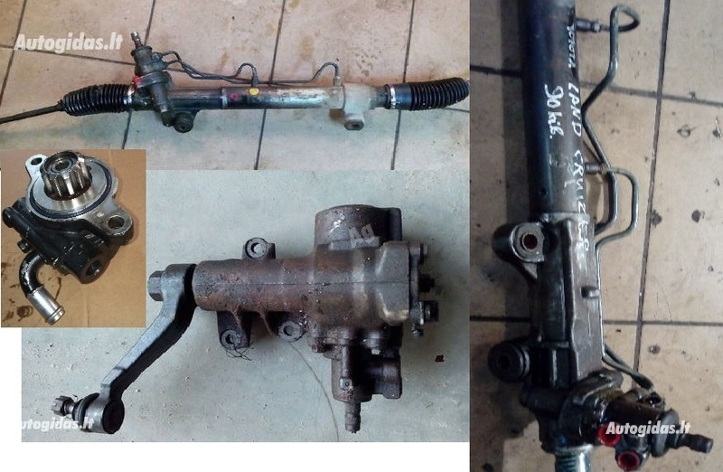Toyota Land Cruiser 1990 y. parts
