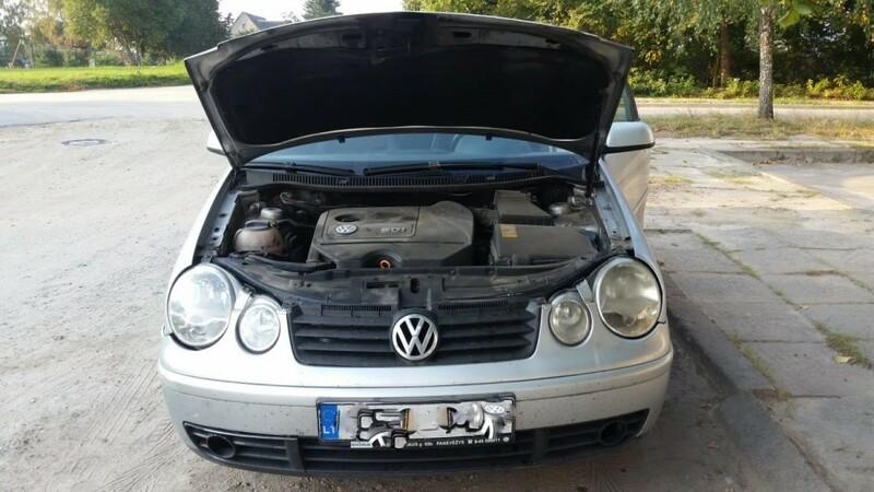 Volkswagen Polo IV 2003 m dalys