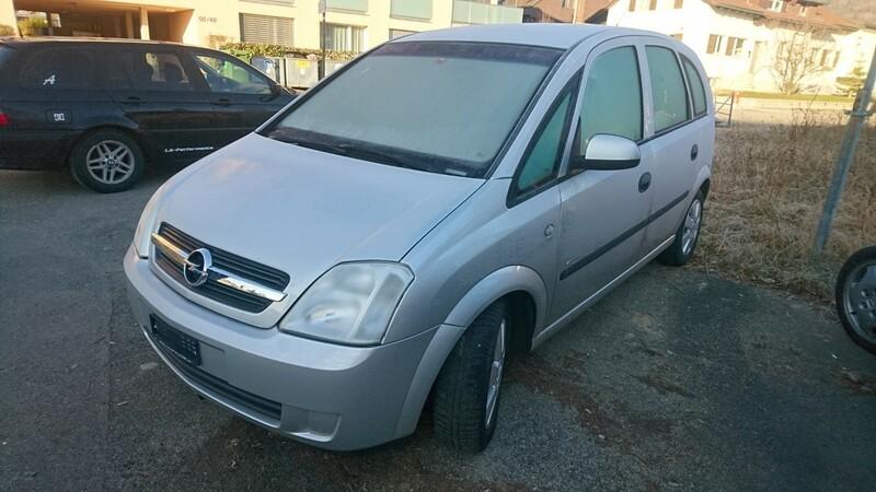 Opel Meriva I 2005 г запчясти
