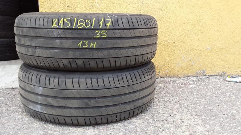 Michelin R17 vasarinės  padangos lengviesiems