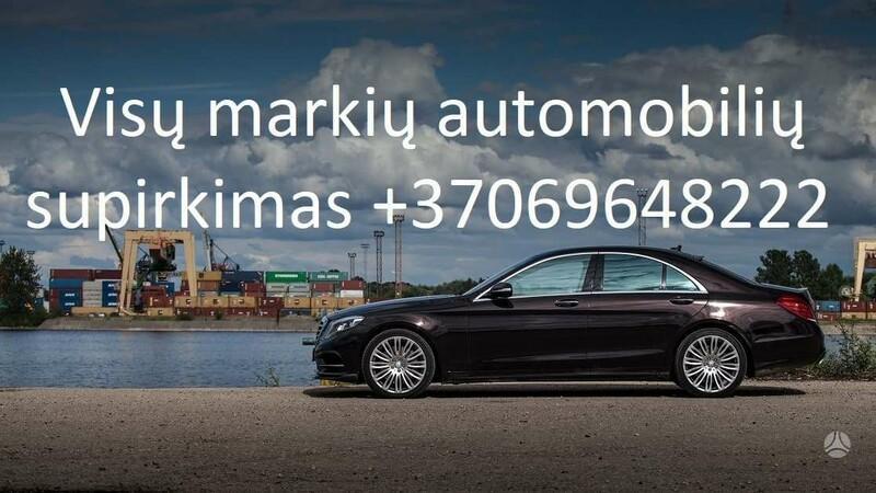 Perkame visų modelių automobilius 869648222