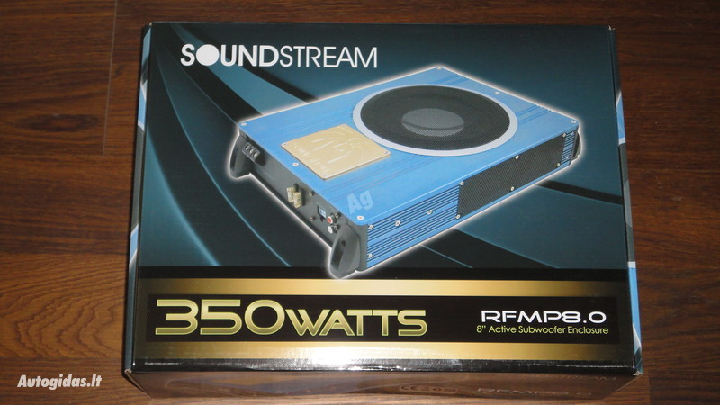 Subwoofer Speaker  Soundstream RFMP8.0