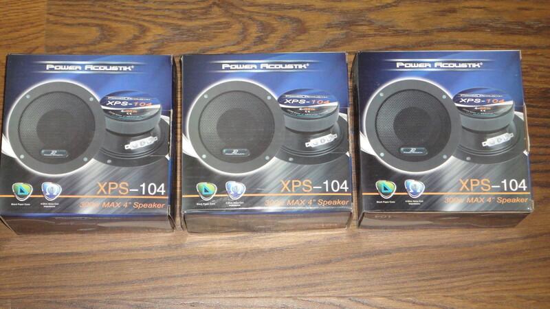 Speaker  Power Acoustik XPS-104 Midrange