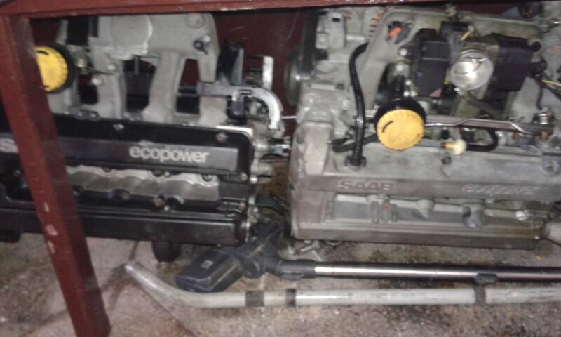 saab varikliai, Saab 9-5 2006 m dalys