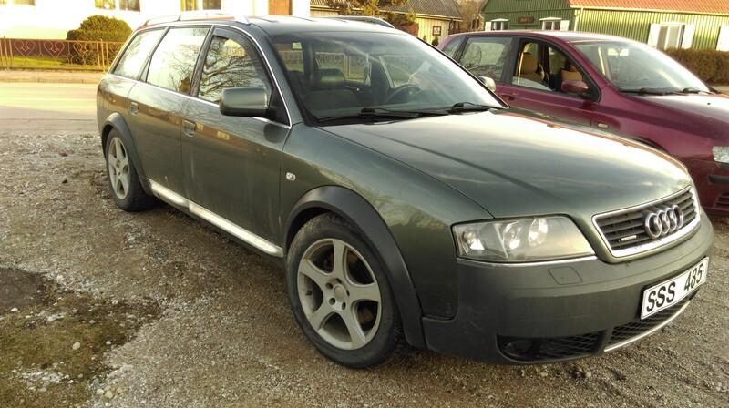 Audi A6 Allroad C5 2000 m dalys