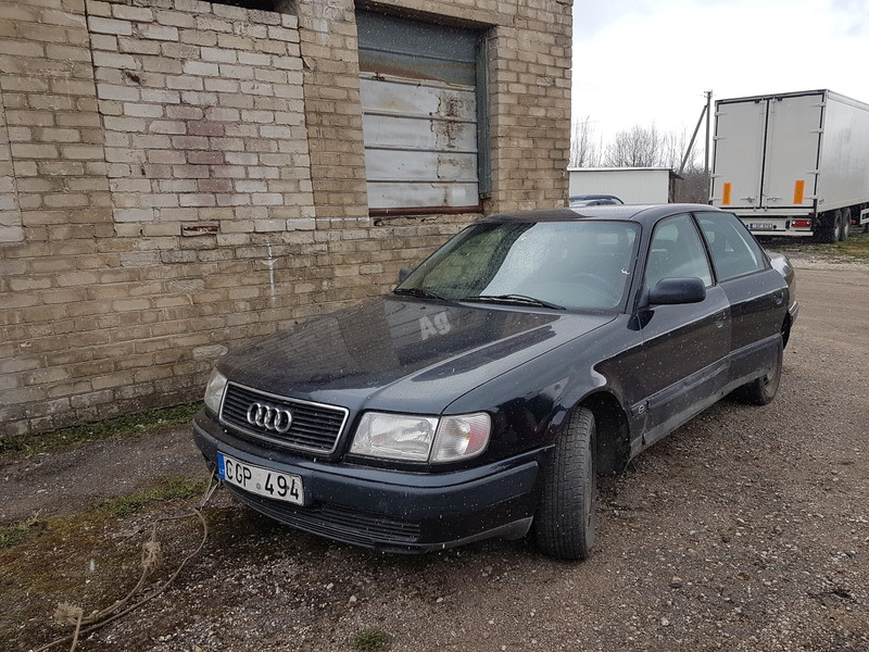 Audi 100 C4 DIZELIS 2.5 103 KW  1991 m dalys