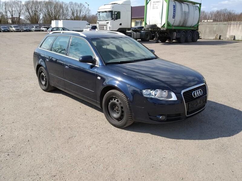 Audi A4 B7 2007 m dalys