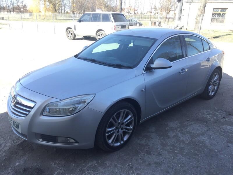 Opel Insignia 2010 m dalys
