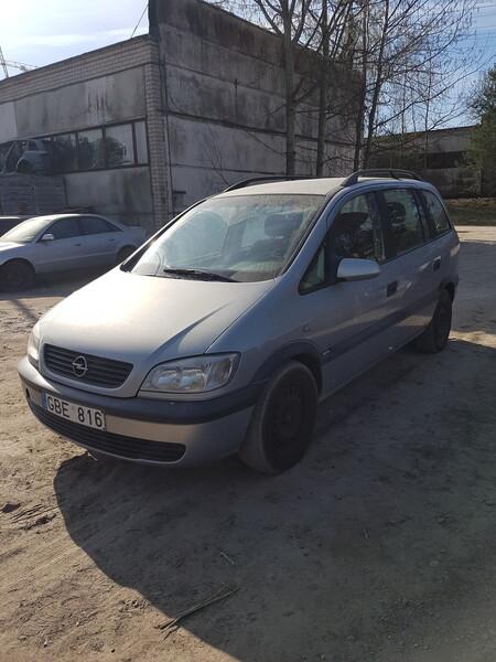 Opel Zafira 1999 m dalys