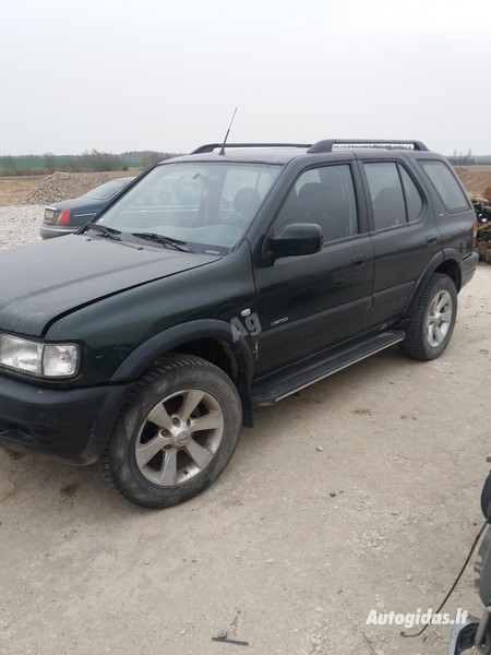 Opel Frontera 2001 m dalys