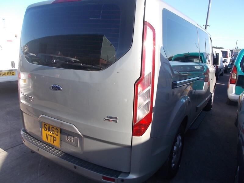Ford Tourneo Custom 2014 m dalys