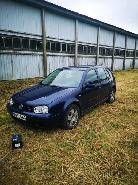Volkswagen Golf IV 1999 m dalys