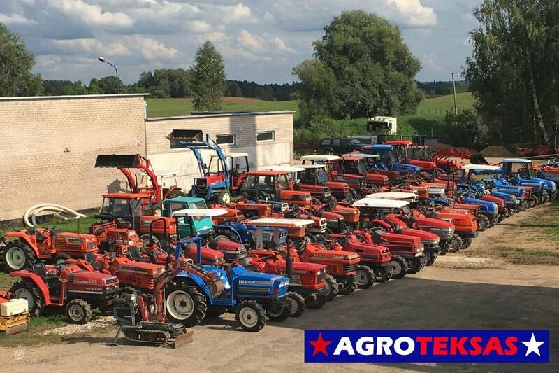 Traktorius  Kubota Mini traktoriai 1995 m
