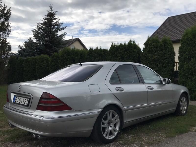 Mercedes-Benz S 400 CDI 2000 m dalys