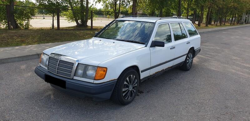 Mercedes-Benz W124 1987 m dalys