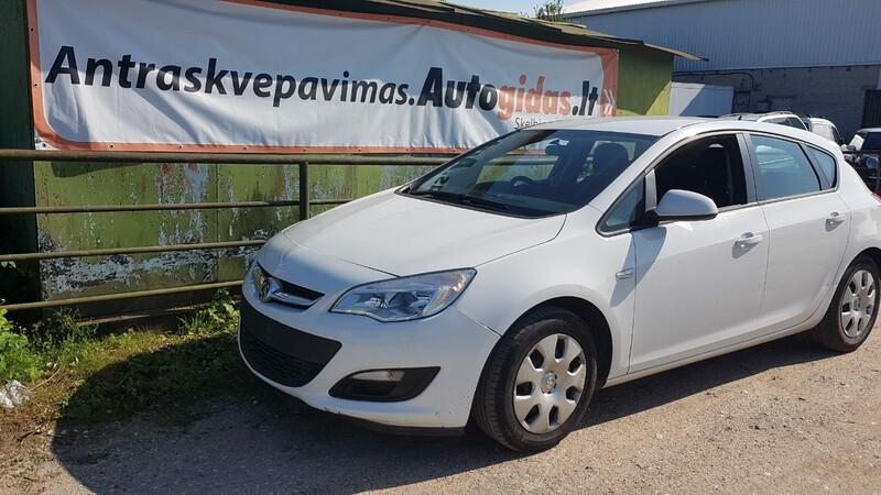 Opel Astra J  1.3CDTI  A13DTE 2014 m dalys