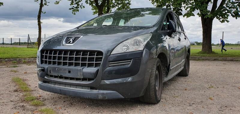 Peugeot 3008 Europa 2010 m dalys