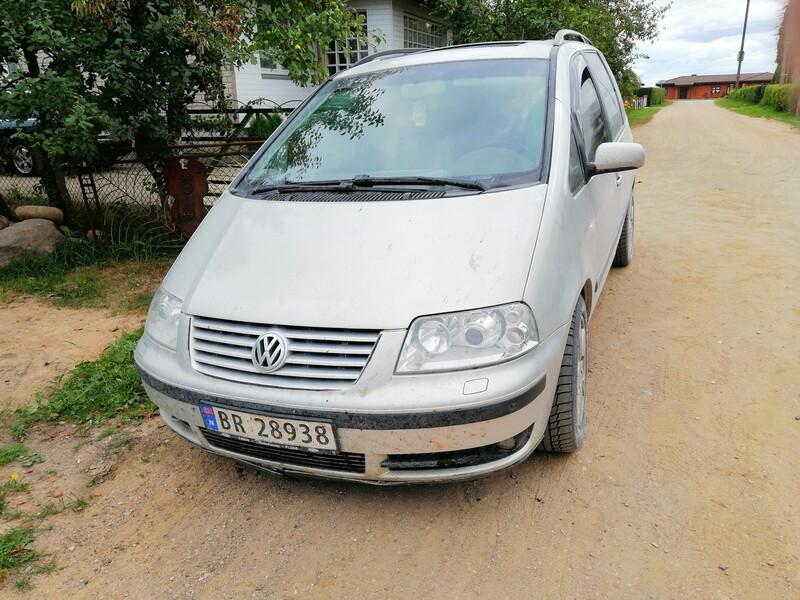 Volkswagen Sharan 2004 m dalys
