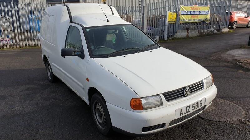 Volkswagen Caddy II 2001 m dalys