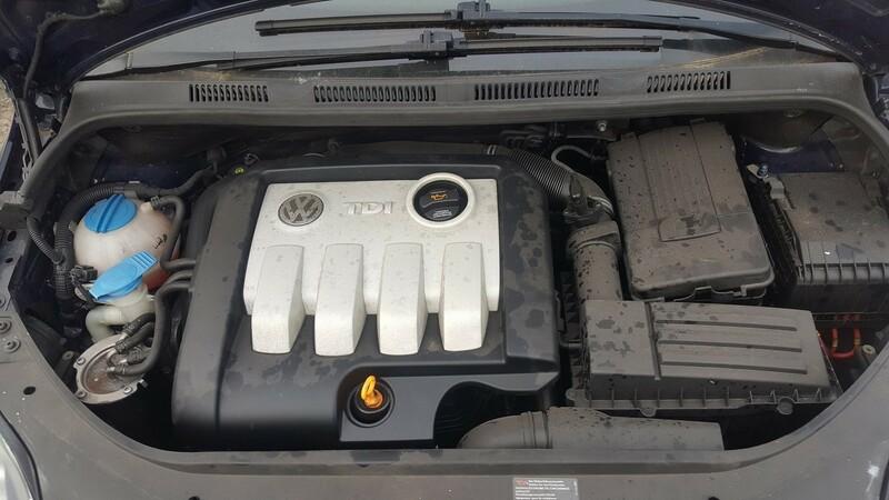 Volkswagen Touran I 2004 m dalys