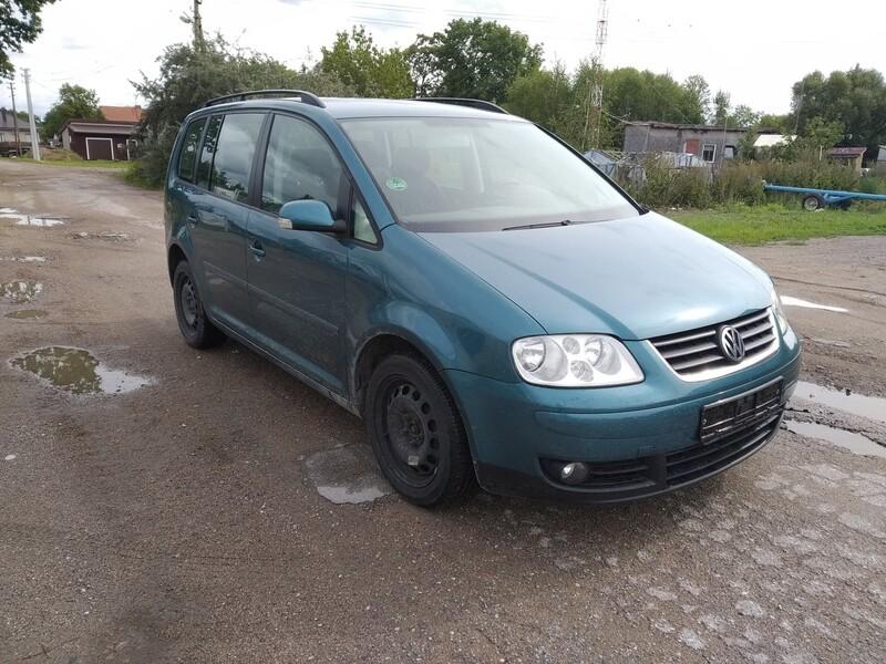 Volkswagen Touran I 2003 m dalys