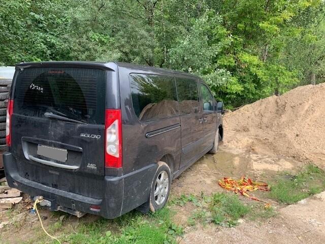 Fiat Scudo 2010 m dalys