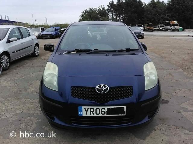 Toyota Yaris II 2006 m dalys
