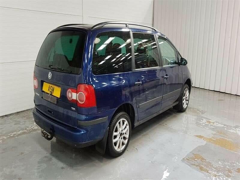 Volkswagen Sharan I TDI 2007 г запчясти