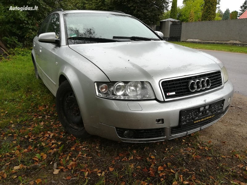 Audi A4 B7 2004 m dalys
