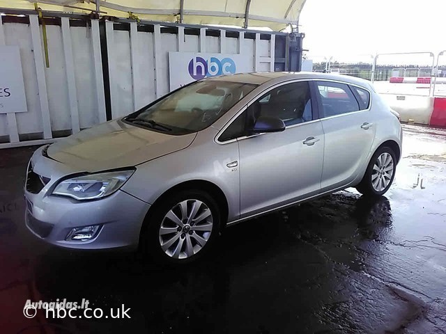 Opel Astra IV CDTI 2010 m dalys