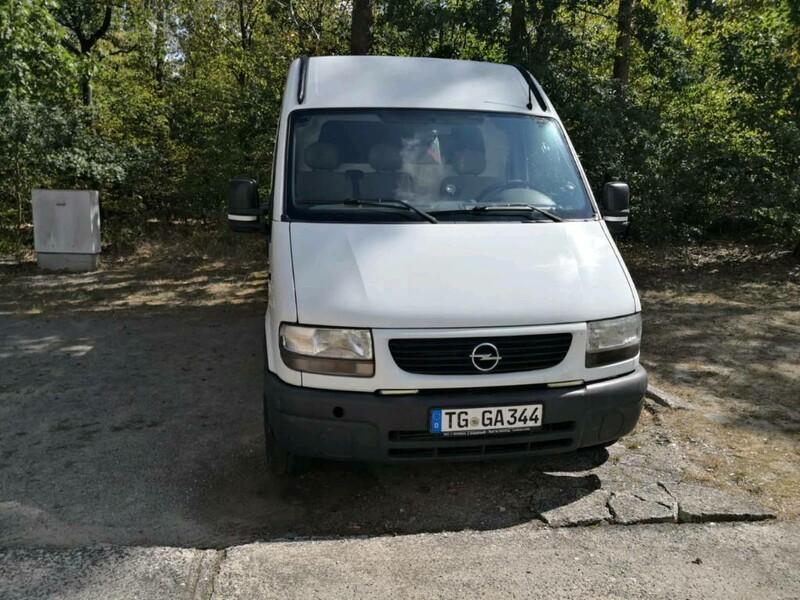 Opel Movano I 2002 m dalys