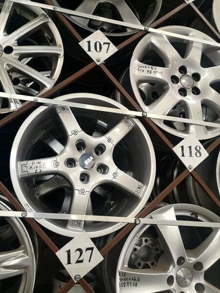 R17 lengvojo lydinio  ratlankiai