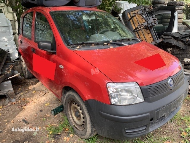 Fiat Panda II 2007 m dalys