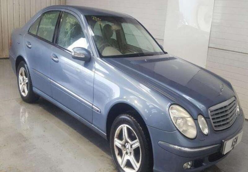 Mercedes-Benz E 320 W211 2004 m dalys