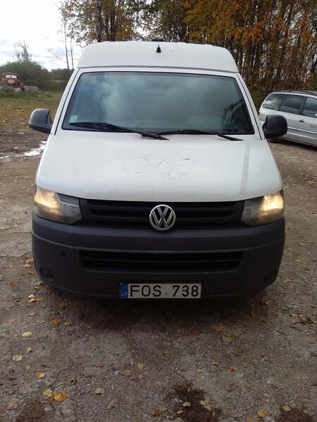 Volkswagen Transporter T1 2011 m dalys