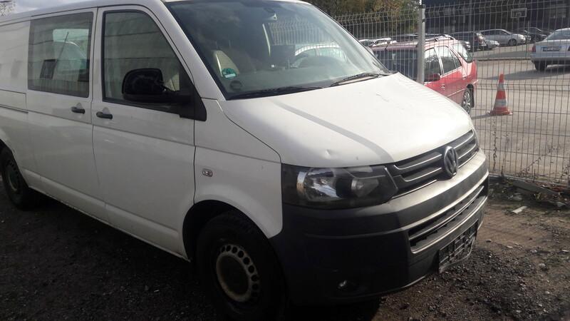 Volkswagen Transporter 2011 m dalys