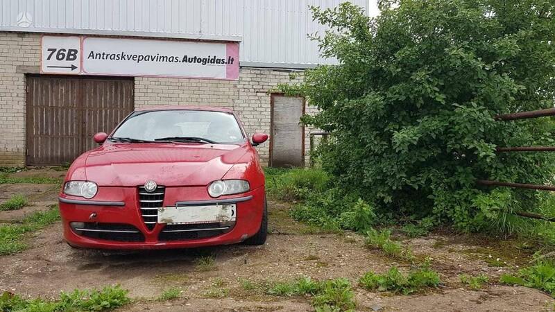 Alfa Romeo 147 1,9JTD  2002 m dalys