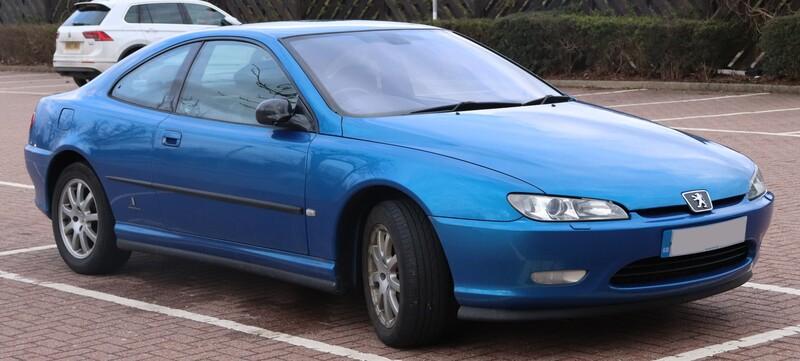 Peugeot 406 2003 m dalys