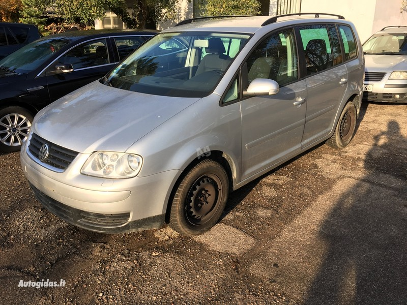 Volkswagen Touran I TDI 2006 y parts