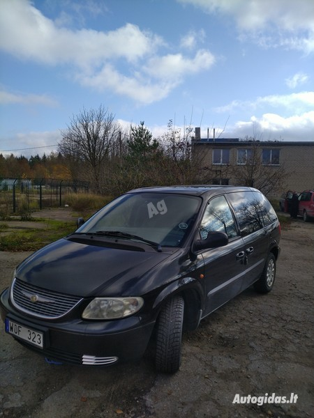Chrysler Voyager CRD 2004 y parts