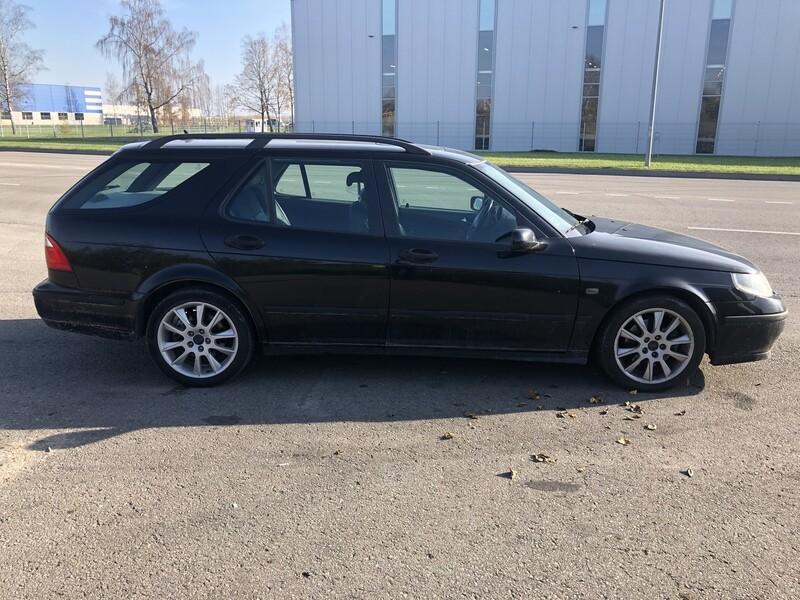 Saab 9-5 2003 m dalys