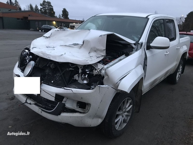 Volkswagen Amarok 2015 m dalys