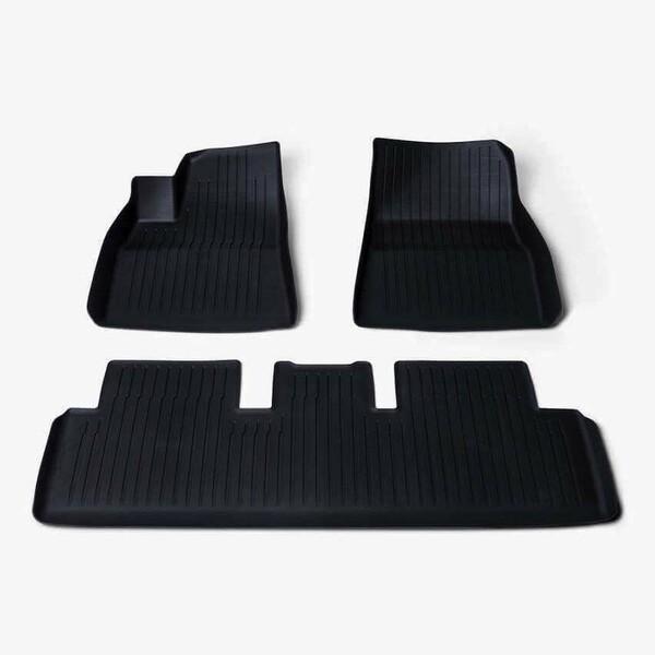 Tesla Model 3 2019 m kilimėlių komplektas gum. liners m3 (tesla)